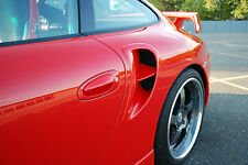 Porsche 996 C2 to 996 Turbo style Side Vents update  New!!!