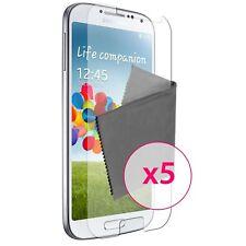 Films de protection Clear HD Galaxy S4 i9500 Lot de 5