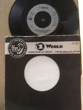1 WORLD - COME INTO MY HEART + THE PROPHET MIX - FFRR F154 - FREE UK P&P