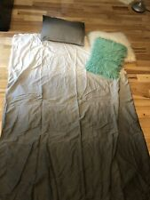 Grey Ombre Twin XL Dorm Bed Set
