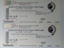 2 alte Wochenend-Tickets für Nürburgring 30.04.2011 - 01.05.2011