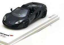 McLaren Mp4-12c Spider LHD Baujahr 2012 Carbon schwarz 1 43 TrueScale