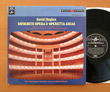 TWO 319 David Hughes Sings Favourite Opera & Operetta Arias FACTORY SAMPLE LP