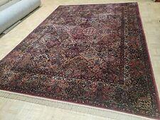 New listing 9x12 Antique Karastan Multicolor Panel Kirman 700 - 717 100% Wool Rug Authentic