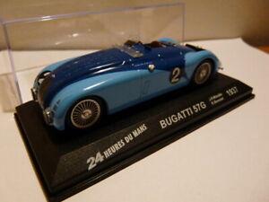24H01 voiture 1/43 IXO 24 Heures Le Mans : Bugatti 57G winner  1st 1937