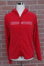 Ohio State Buckeyes Columbia Zip Up Hoodie Red Youth Size Medium