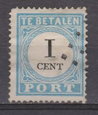 A4P3 Port nr.3 tanding A type 4 used NVPH Netherlands Nederland due portzegel
