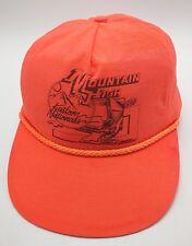 MOUNTAIN HIGH KUSTOM NATIONS 1990 - KUSTOM KEMPS orange adjustable cap   hat 3f0e17e3ff60