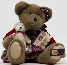 "Boyds Bear 13"" in Sarabeth Bearcounty with Jeb Plush Bear 93608V Nwt"