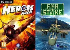 Heroes over europe & fair strike new & sealed