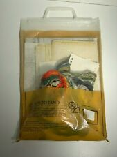 Vintage Eva Rosenstand 12-334 Kit The Hunt 3 Embroidered Picture. Vintage Yellow