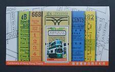China Hong Kong 2004 Centenary of Hong Kong Trams S/S MNH