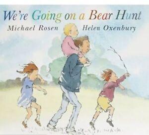 Preschool Bedtime Story Book - WE'RE GOING ON A BEAR HUNT by Michael Rosen - NEW