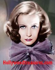 "Greta Garbo~Color~Photo~Poster~ 16"" x  20"""