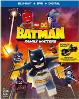 LEGO DC: Batman: Family Matters [New Blu-ray] With DVD, Figure, Gift W