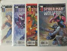 Spiderman Comic Lot Spiderman Wolverine 1 2 3 4  NM Bagged Boarded