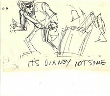 Hey Good Lookin Ralph Bakshi 1973-82 animation Production Storyboard 59