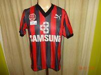 "Eintracht Frankfurt Puma Vize- Meister Trikot 1991/92 ""SAMSUNG"" + Nr.11 Gr.S"