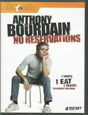 Anthonthy Bourdain No Reservations 4 DVD SET Travel Channel RARE