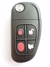 Ricambio 4 pulsanti aletta caso chiave per Jaguar S X Tipo XJ XJ6 XJ8 XJR