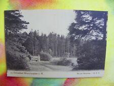 Sehr alte seltene Ansichtskarte, Postkarte vom Ostseebad BRUNSHAUPTEN - MS: 785