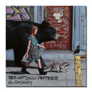 Red Hot Chili Peppers The Getaway Album Art Silk Poster 14x14 20x20 inch