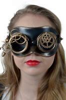 Steampunk Maske Brille bronzefarben Augenmaske,Maske,Steampunkmaske !