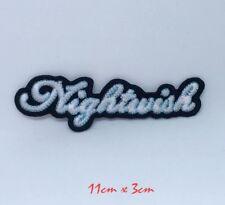 Nightwish metal rock band logo Embroidered Iron Sew on Patch #1357