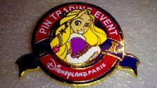 Disney Pin 98985 DLP Pin trading event Logo The Christmas of Rapunzel - Rapunzel