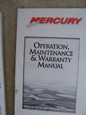 *1999 Mercury Outboard 75 90 HP 4 Stroke Owner Operator Manual MORE IN STORE  S