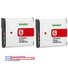 Kastar Replacement Battery Pack for Sony NP-BG1 NP-FG1 & Sony Cyber-shot DSC-W55
