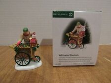 Dept. 56 Christmas In The City 2001 Hot Roasted Chestnuts #56.5893 Street Vendor