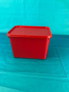 Plastic Storage Containers 20 x 4ltr Rectangular RED