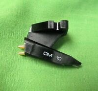 ORTOFON OM10 CARTRIDGE WITH ORIGINAL ORTOFON 10 STYLUS  FOR MOST DUAL TURNTABLES