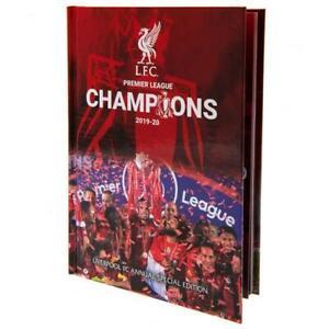 Liverpool Football Club FC Premier League Champions 2019/20 Annual LFC EPL