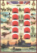 Bc-124 2007 The Great War History of Britain No.12 Business Smilers Sheet.
