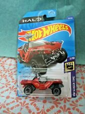 Hot Wheels Halo Sword Warthog Hw Screen Time #7/10 Red Diecast 1:64 Scale New