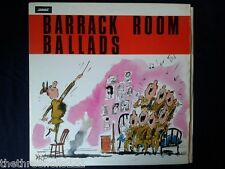 VINYL LP - BARRACK ROOM BALLADS - HUT NINE SCIVERS - ATL4153