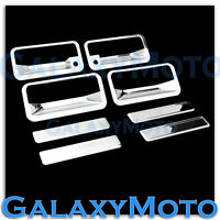 92-99 Chevy Suburban+95-99 Chevy Tahoe Chrome 4 Door Handle+WITH PSG kh Cover