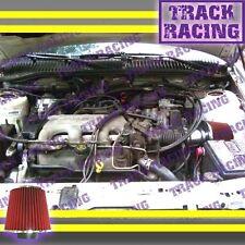 1994 1995/94 95 CHEVY BERETTA/CHEVROLET CORSICA 3.1L V6 AIR INTAKE KIT Red