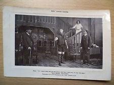 .Pre 1909 Theatre Postcard: Pete Lyceum Theatre:Daily Mirror Photograph (+Stamp)