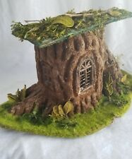 Celebrate it, Tiny Treasures Woodland Fairy Tale Structure tree trunk house