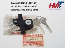 Kawasaki KE250 1977'-1979' KH125 Seat Lock Assy #A01 27016-5001 NOS JAPAN