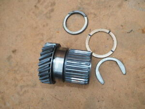 Classic Mini primary drive gear and thrust washers