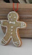 Gingerbread Man Hanging Christmas Decoration by Gisela Graham