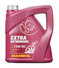 MANNOL 4L Extra Getriebeoel 75w90 Fully Synthetic Gear Oil GL-4 GL-5 LS