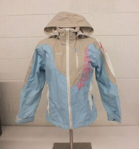 Reima TEC High-Quality Blue & Beige Shell Jacket Size 150 US Youth 12 EXCELLENT