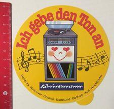 Autocollant/sticker: Brinkmann-je donne le ton à (06051696)