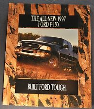 1997 Ford F-150 Pickup Truck 32pg Brochure XLT Lariat 4x4 Excellent Original 97