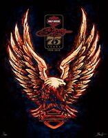 Sturgis 75th Anniversary Harley Davidson Art Limited Edition Print Mathew Hintz